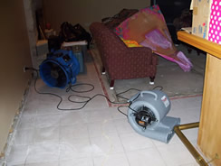 Equipment Drying a Home